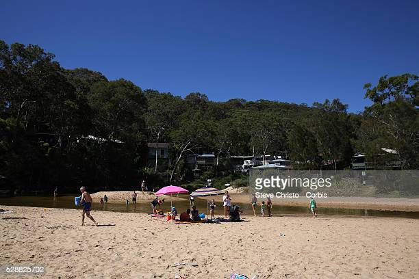 True to its name Pearl Beach is a 'Gem' located on the western shoreline of Broken Bay sharing the peninsula with nearby Patonga Sydney Australia...