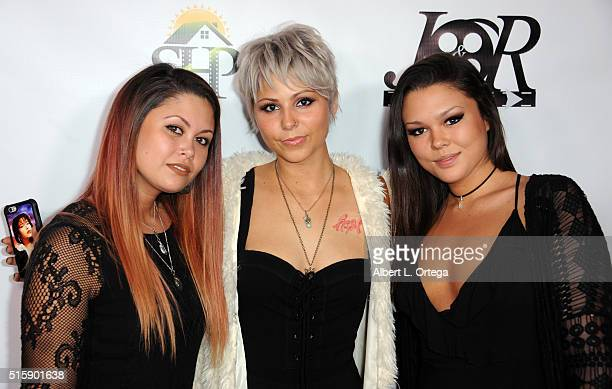 True Violet arrives for the Premiere Of JR Productions' Halloweed held at TCL Chinese 6 Theatres on March 15 2016 in Hollywood California