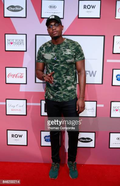 TrueBlends attends Kia STYLE360 Hosts Bad Butterfly Presented by Candice Cuoco x Vanessa Simmons S/S '18 at Metropolitan West on September 12 2017 in...