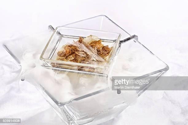 Truffle on dry ice