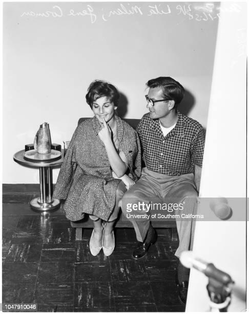 Trujillo's gal friend 16 June 1958 Lita Milan 23 years Gene CormanCaption slip reads 'Photographer Wesselman Date Reporter Farrell Assignment...