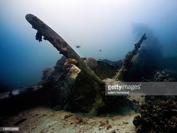 Truk Lagoon, Chuuk FSoM. From World War II.