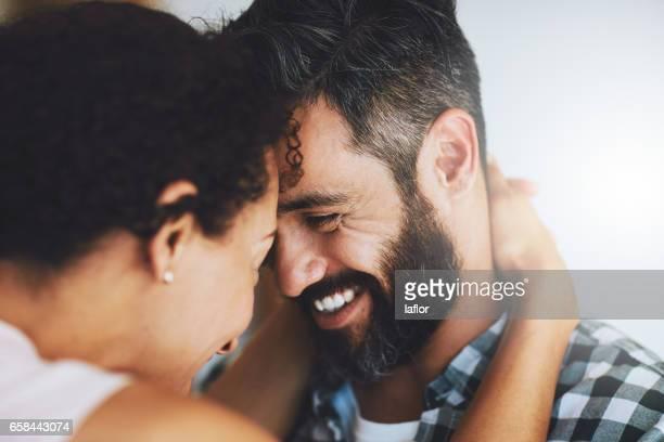 Wirklich, wie verrückt, tief in der Liebe