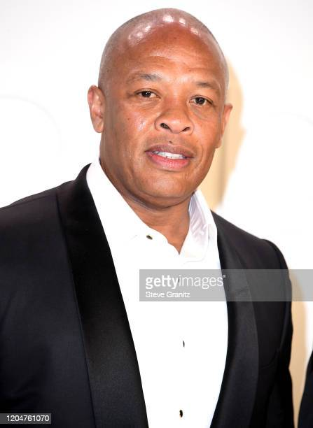 Truly Young Dr Dre and and Nicole Young arrives at the Tom Ford AW20 Show at Milk Studios on February 07 2020 in Hollywood California