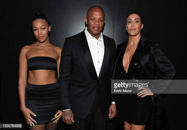 Truly Young Dr Dre and Nicole Young attend the Tom Ford AW20 Show at Milk Studios on February 07 2020 in Hollywood California