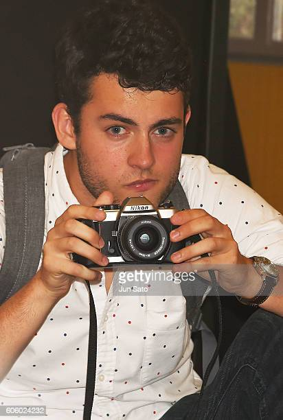 Truman Hanks is seen during the Sully Press Conference at the RitzCarlton on September 16 2016 in Tokyo Japan