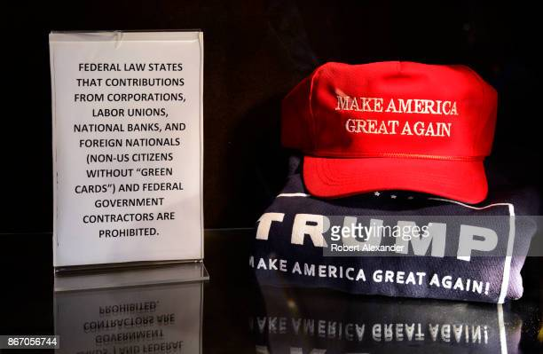 Trump brand Tshirts and sweatshirts for sale in Trump Tower in New York New York