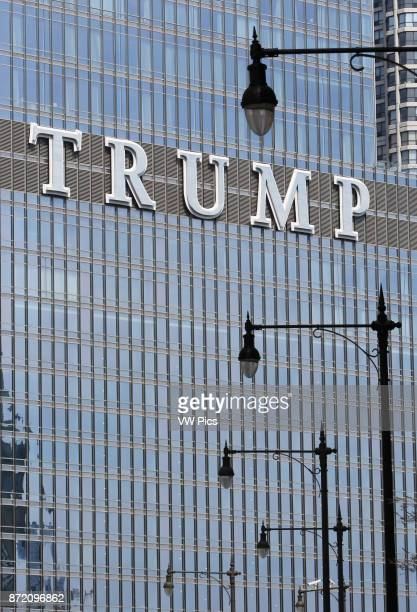 Trump International Hotel and Tower Chicago High rise building owned by the Trump Organization