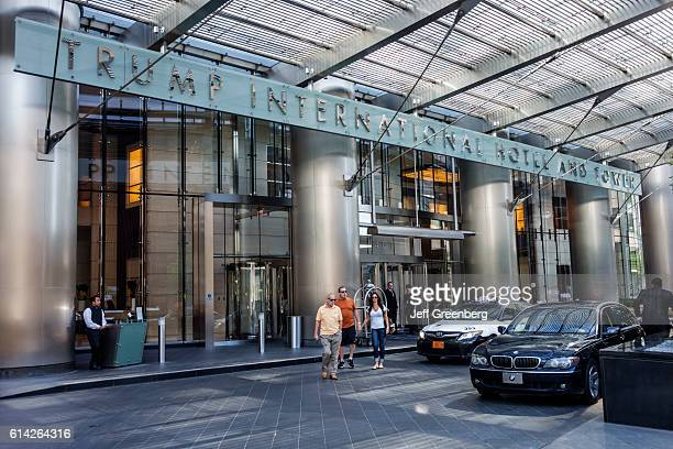 Trump International Hotel Tower entrance