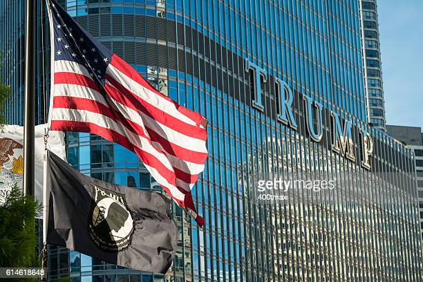 trump - trump chicago stock photos and pictures