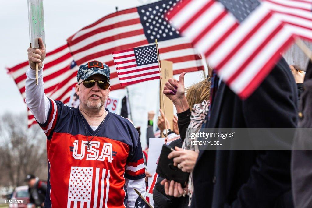 US-POLITICS-TRUMP-ILHAN OMAR : News Photo