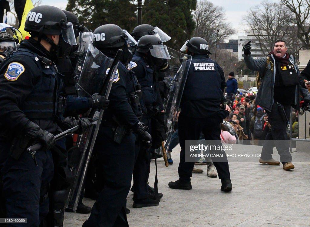 TOPSHOT-US-POLITICS-ELECTION-TRUMP : News Photo