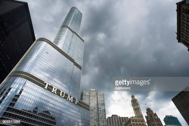 Trump Towe, Chicago, Illonois.