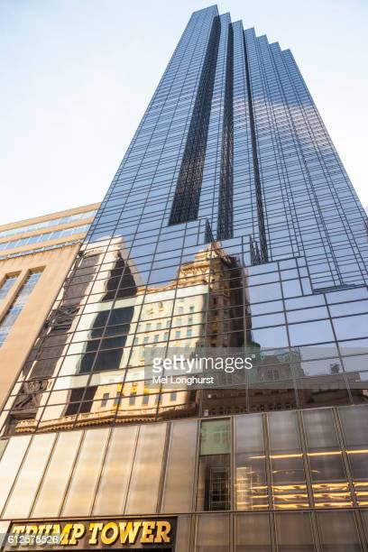 trump tower, 725 fifth avenue, manhattan, new york city, new york, usa - trump tower fifth avenue manhattan stock pictures, royalty-free photos & images