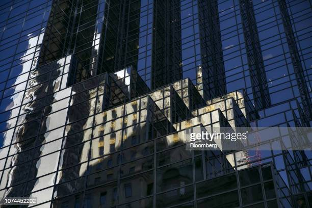 Trump Tower, a twenty-eight sided structure with a stepped facade, stands in New York, U.S., on Wednesday, Dec. 19, 2018. In late November, Special...