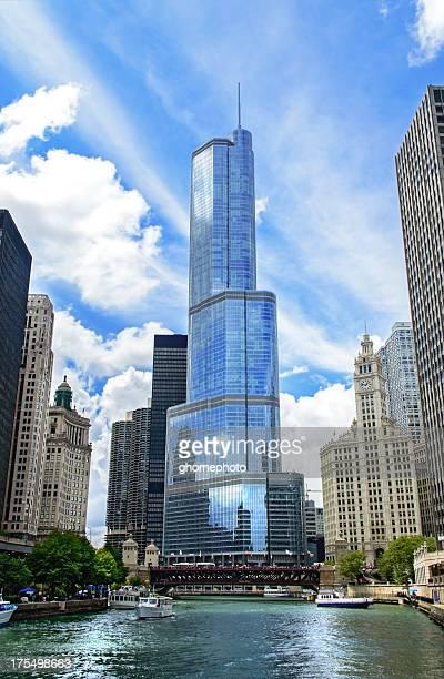 Trump Tower em Chicago Illinois
