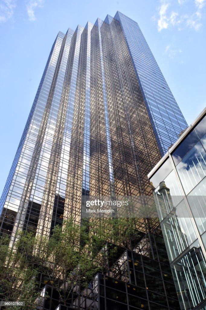 Trump Tower in Manhattan : Stock-Foto