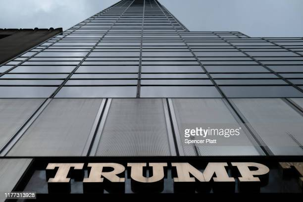 Trump Tower stands in midtown on September 26, 2019 in New York City. Following the controversy over the phone call between Donald Trump and the...