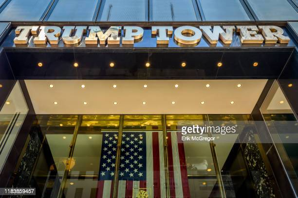 Trump Tower's Fifth Avenue entrance.