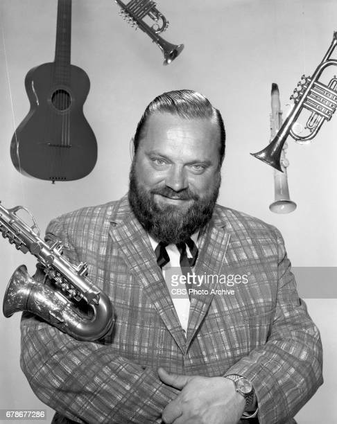 Trumpet musician Al Hirt poses for a portrait He is the host of the CBS television show FANFARE Image dated April 19 1965 New York NY