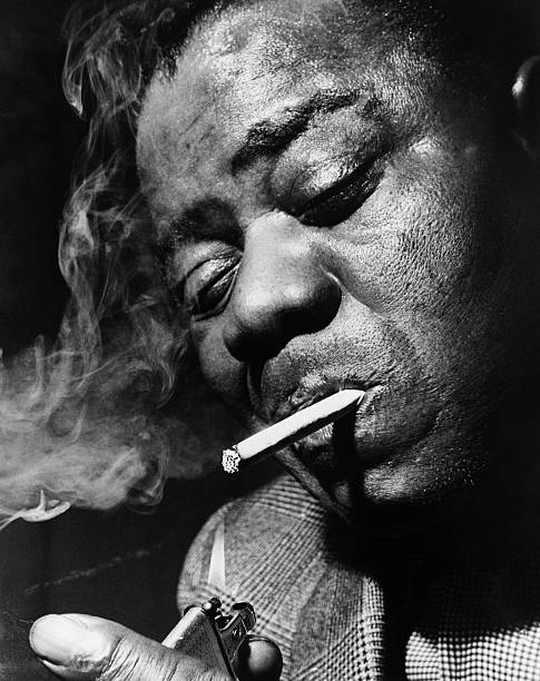 Trumpet Player And Singer Louis Armstrong In London For A Recital Before Resting In His Long Island Estate Wall Art