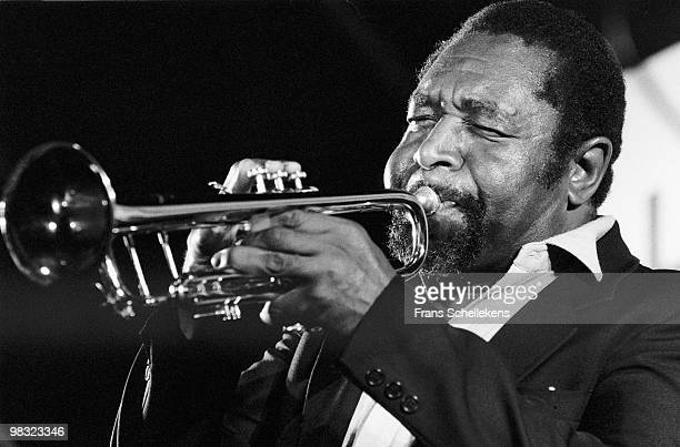 Trumpet player Benny Bailey performs live at Meervaart, Amsterdam during the NOS Jazz Festival on August 14 1982