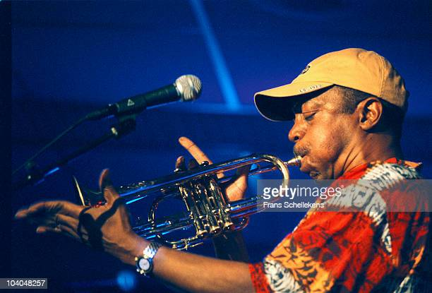 Trumpet player Olu Dara performs on stage at The North Sea Jazz Festival on July 14 2001 in The Hague, Netherlands.