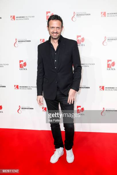 Trumpeter Till Broenner during the German musical authors award on March 15 2018 in Berlin Germany