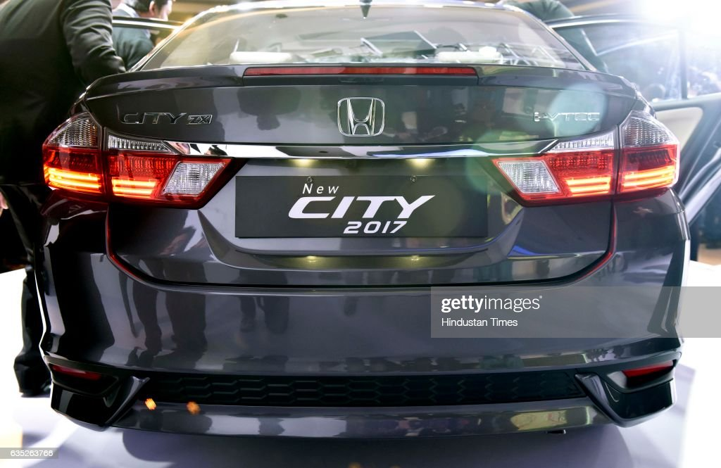 Trunklid Spoiler With LED Stop Lamp Of All New Honda City Launched On  February 14,
