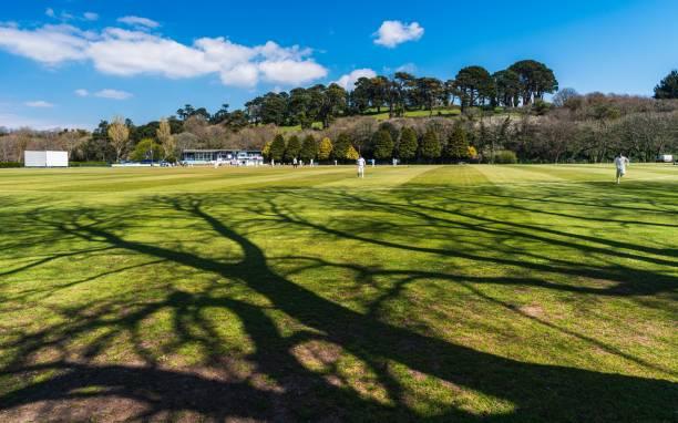 Truro Cricket Club and Boscawen Park in Truro, Cornwall, England, United Kingdom