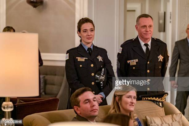 D Trust Episode 611 Pictured Marina Squerciati as Kim Burgess Jason Beghe as Hank Voight