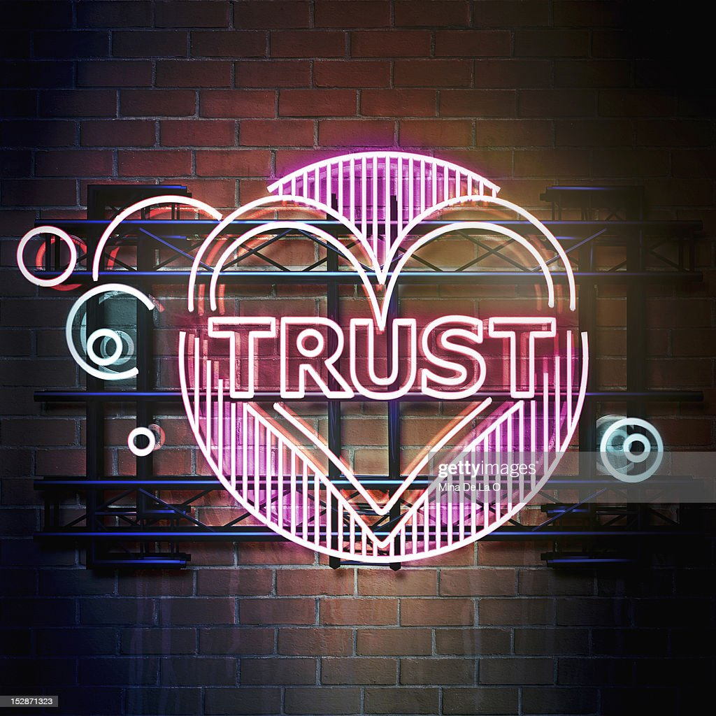 Trust : Stock Photo