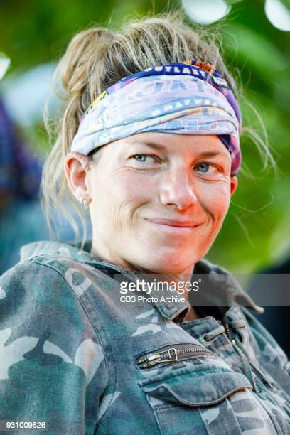 Trust Your Gut Angela Perkins on the fourth episode of Survivor Ghost Island airing Wednesday March 14 on the CBS Television Network