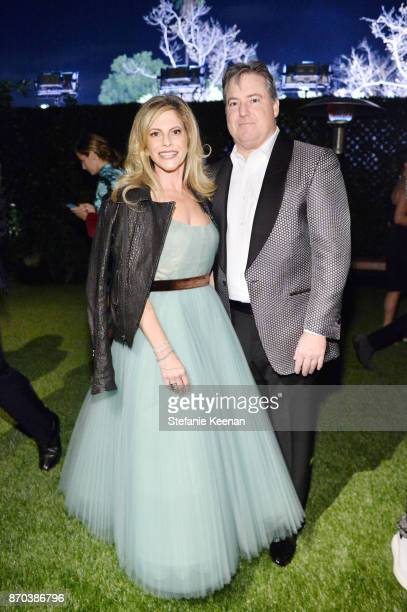 Trustee Allison Berg and Senior Partner at Apollo Global Management and Chairman of McGrawHill Education Larry Berg attend the 2017 LACMA Art Film...