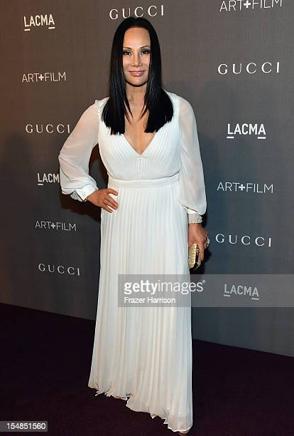 Trustee Eva Chow arrives at LACMA 2012 Art Film Gala Honoring Ed Ruscha and Stanley Kubrick presented by Gucci at LACMA on October 27 2012 in Los...