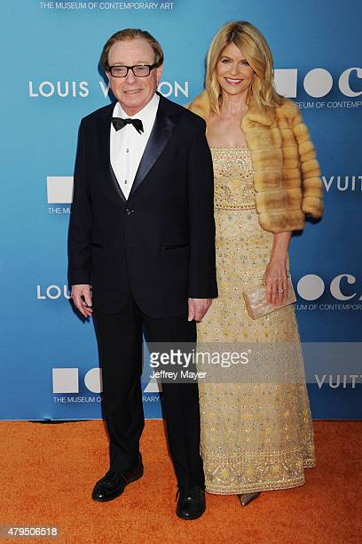 MOCA trustee Fred Sands Carla Sands arrives at the 2015 MOCA Gala presented by Louis Vuitton at The Geffen Contemporary at MOCA on May 30 2015 in Los...
