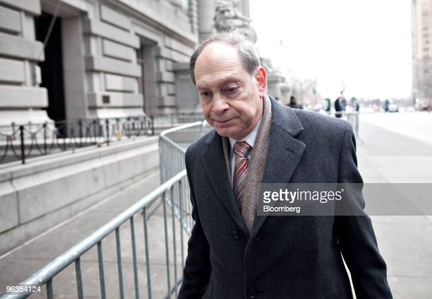Trustee Irving Picard partner at Baker Hostetler LLP leaves US Bankruptcy Court in New York US on Tuesday Feb 2 2010 The judge overseeing the...