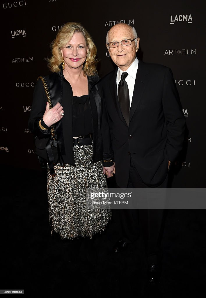 Trustee Lyn Davis Lear(L) and Norman Lear attend the 2014 LACMA Art + Film Gala honoring Barbara Kruger and Quentin Tarantino presented by Gucci at LACMA on November 1, 2014 in Los Angeles, California.