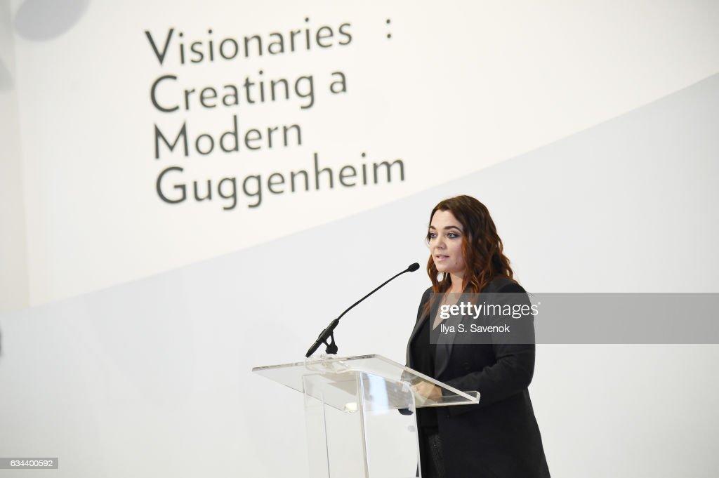 Lavazza Sponsors 'Visionaries: Creating a Modern Guggenheim' at the Guggenheim New York : Foto di attualità