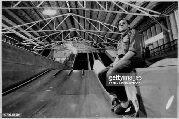 Trustee Sam Marshall in Coney Island near the old Whirling wheelTrustee Sam Marshall on the slide inside Coney IslandFiremen arrive to extinguish a...