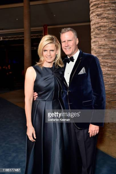 Trustee Viveca Paulin and Will Ferrell attend the 2019 LACMA Art Film Gala Presented By Gucci at LACMA on November 02 2019 in Los Angeles California