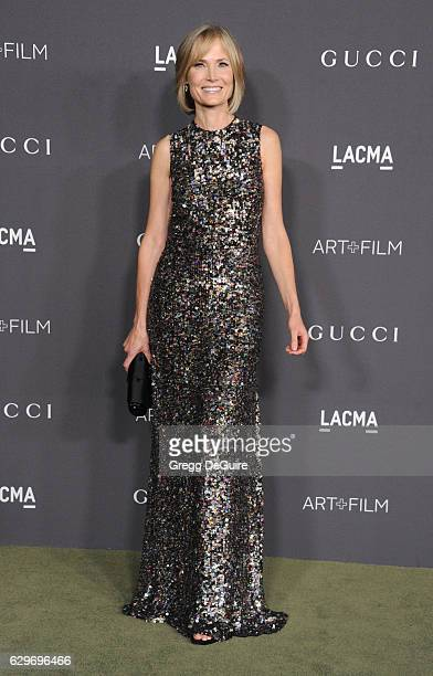 Trustee Willow Bay arrives at the 2016 LACMA Art Film Gala Honoring Robert Irwin And Kathryn Bigelow Presented By Gucci at LACMA on October 29 2016...