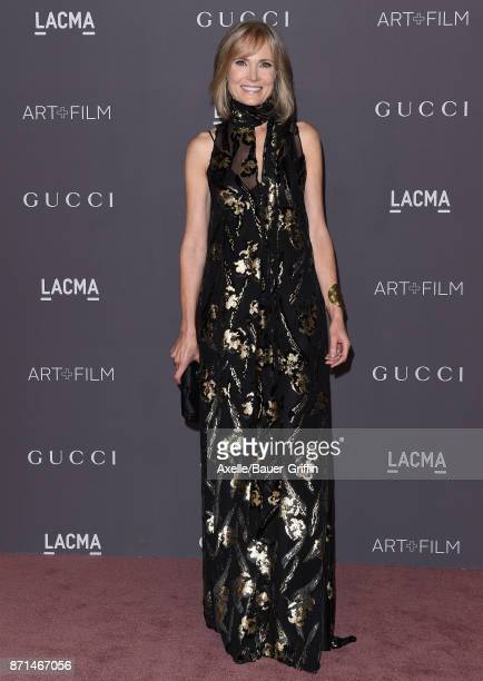 Trustee Willow Bay arrives at the 2017 LACMA Art Film Gala at LACMA on November 4 2017 in Los Angeles California