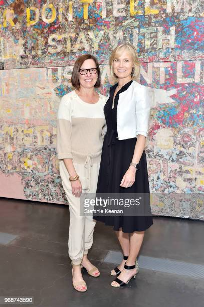 Trustees Ann Colgin and Willow Bay attend LACMA Director's Circle Celebrates The Wear LACMA Spring 2018 Collection With Designs By LFrank and...