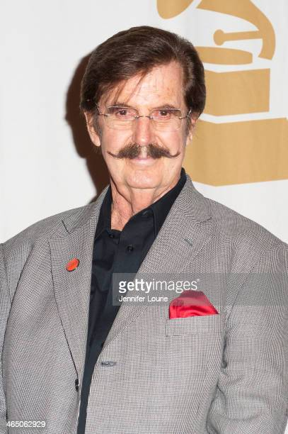 Trustees Award recipient Rick Hall attends the GRAMMY Foundation's Special Merit Awards ceremony at The Wilshire Ebell Theatre on January 25 2014 in...