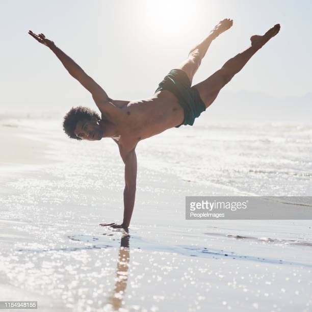 trusting my body while i dance - handstand stock pictures, royalty-free photos & images
