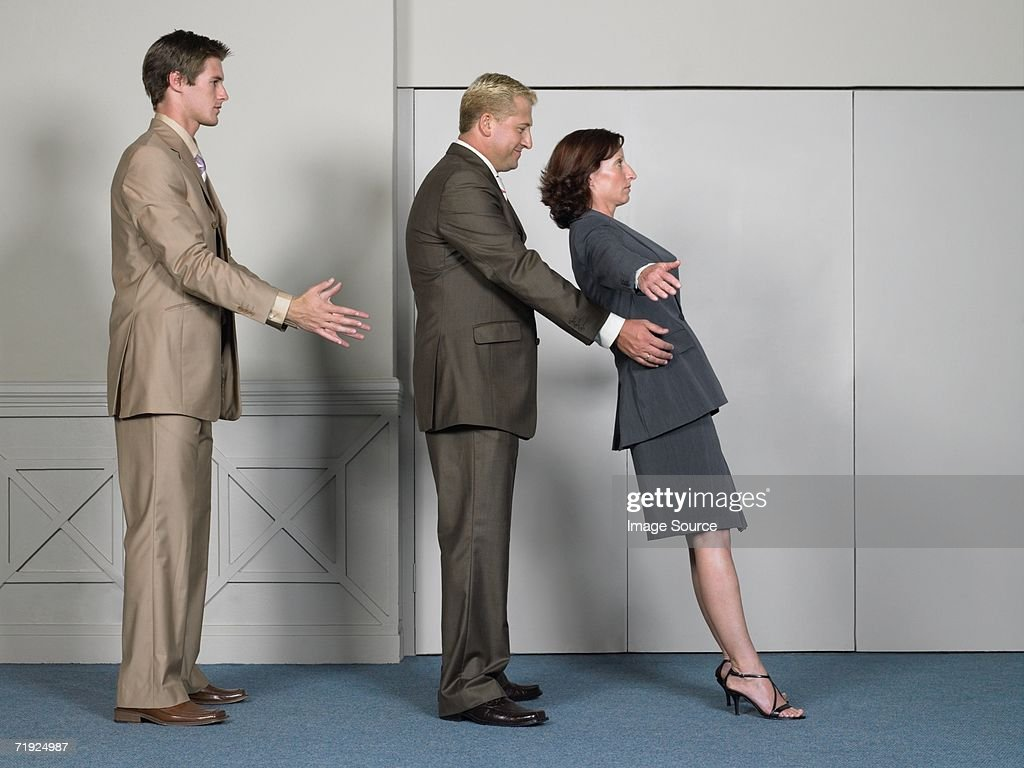 Trusting office workers : Stock Photo