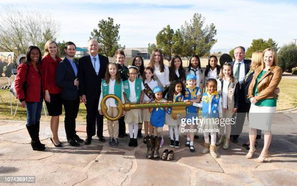 Trustree of the Charles and Phyllis M Frias Charitable Trust John H Mowberay Chief Communications Officer of Girl Scouts of Southern Nevada Linda...
