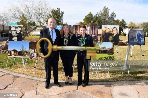 Trustree of the Charles and Phyllis M Frias Charitable Trust John H Mowberay CEO of Girl Scouts Of Southern Nevada Kimberly Trueba and Chief...