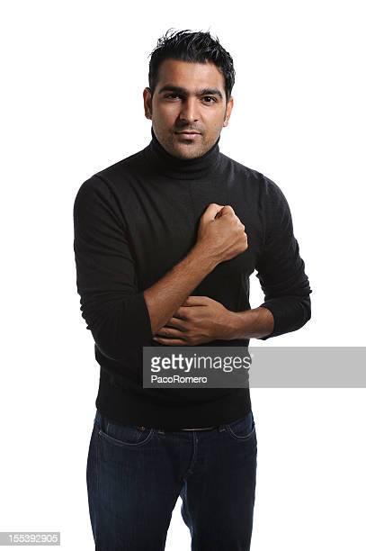 digno de confianza joven empresario - handsome pakistani men fotografías e imágenes de stock